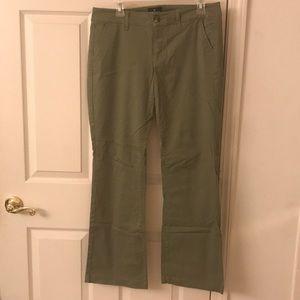 American Eagle Green Kick Boot Pants Size 10